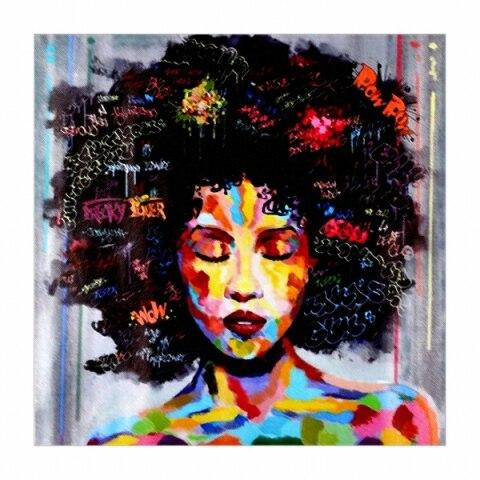 Assez HD IMPRESSION Affiche Mur Art Abstrait Moderne Africain Femmes  YL84