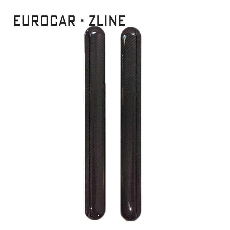 Fibre de carbone G classe W463 G500 G550 G350 G63 G65 C panneaux de pilier garnitures de fenêtre arrière