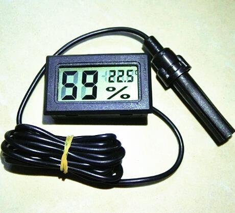 Neue LCD Digital Thermometer Luftfeuchtigkeit Hygrometer Temperaturanzeige Temperatur Meter-50 ~ 70C 10%...