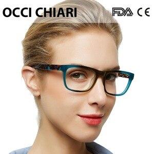 Image 1 - OCCI CHIARI Acetate Cao Cấp Kính Mắt Đơn Thuốc Kính Kính Quang Học Trong Suốt Mắt Người Phụ Nữ Máy Tính Khung W ZELCO