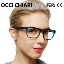 OCCI CHIARI High Quality Acetate Eyewear Prescription Glasses Optical Glasses Clear Eyeglass Woman computer frame W ZELCO