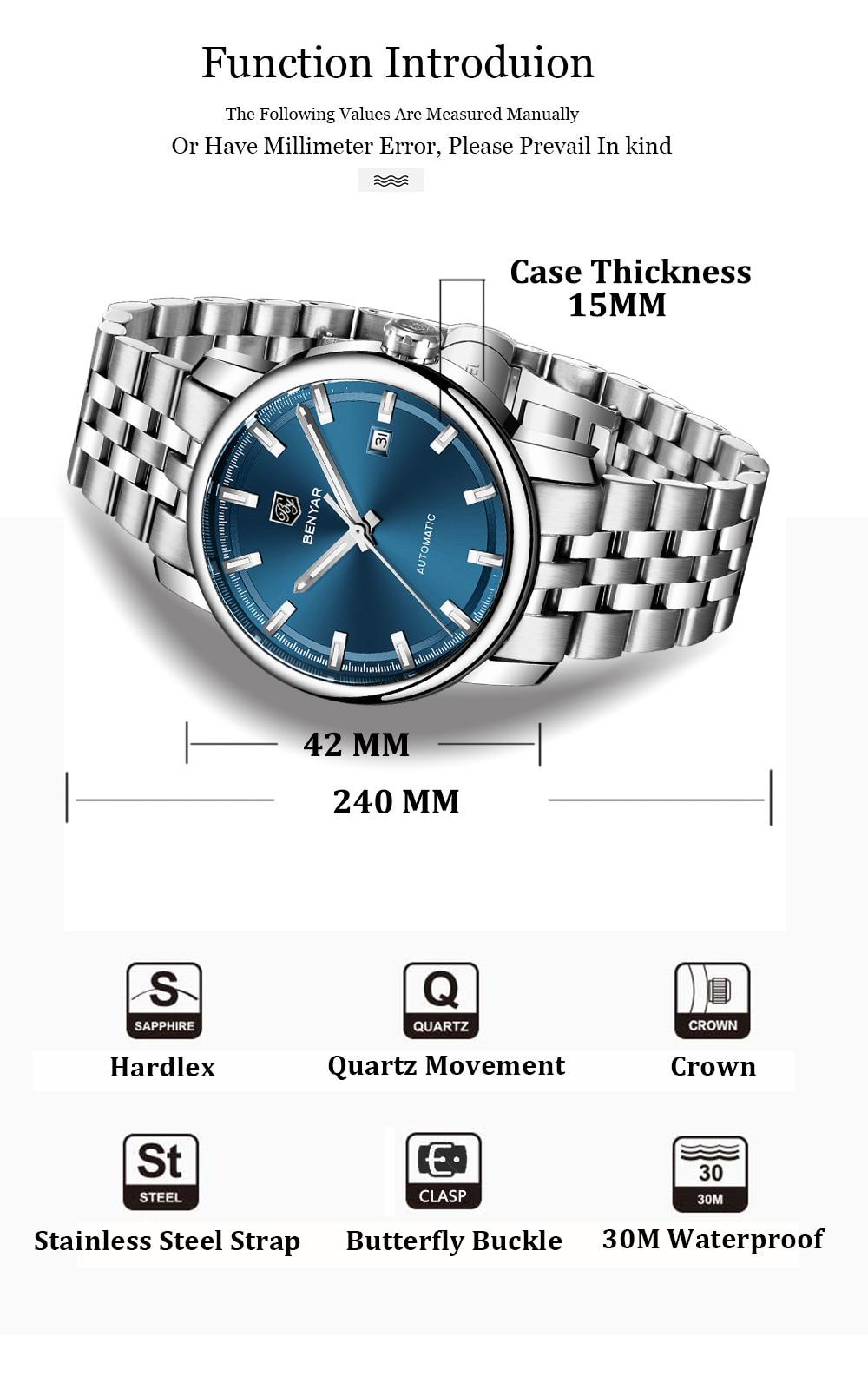 HTB1.c1laWSs3KVjSZPiq6AsiVXaY New BENYAR Men's Mechanical Watches Automatic Mens watches Top Brand Luxury watch men WristWatch Military Relogio Masculino 2019