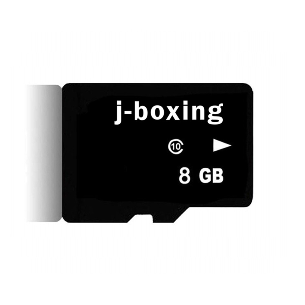 J-boxing 8gb carte mémoire micro sd 8 GB classe 10 carte micro sd 8 GB carte Flash clé usb carte mémoire pour tablette/GPS/appareil photo