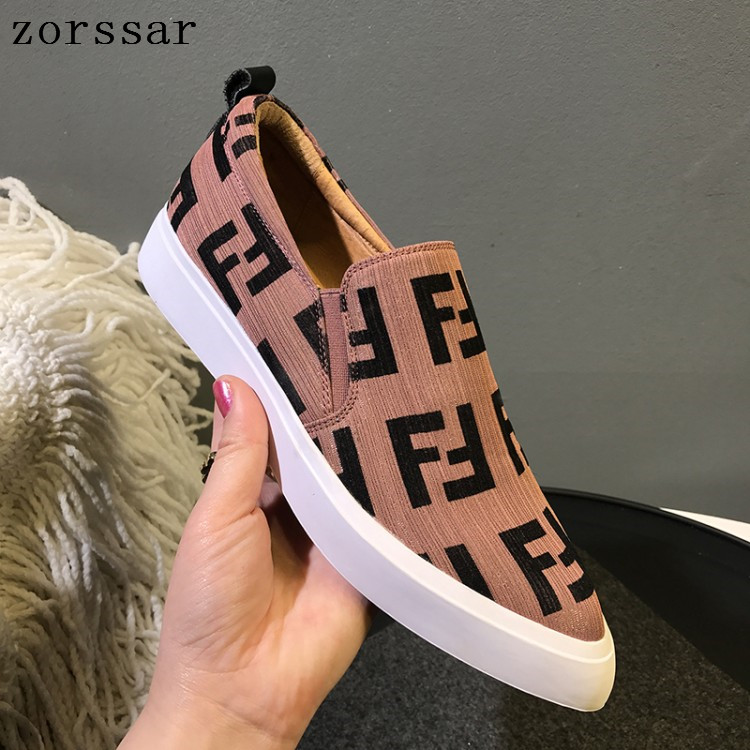 2019 Women Flats shoes slip on Shallow C