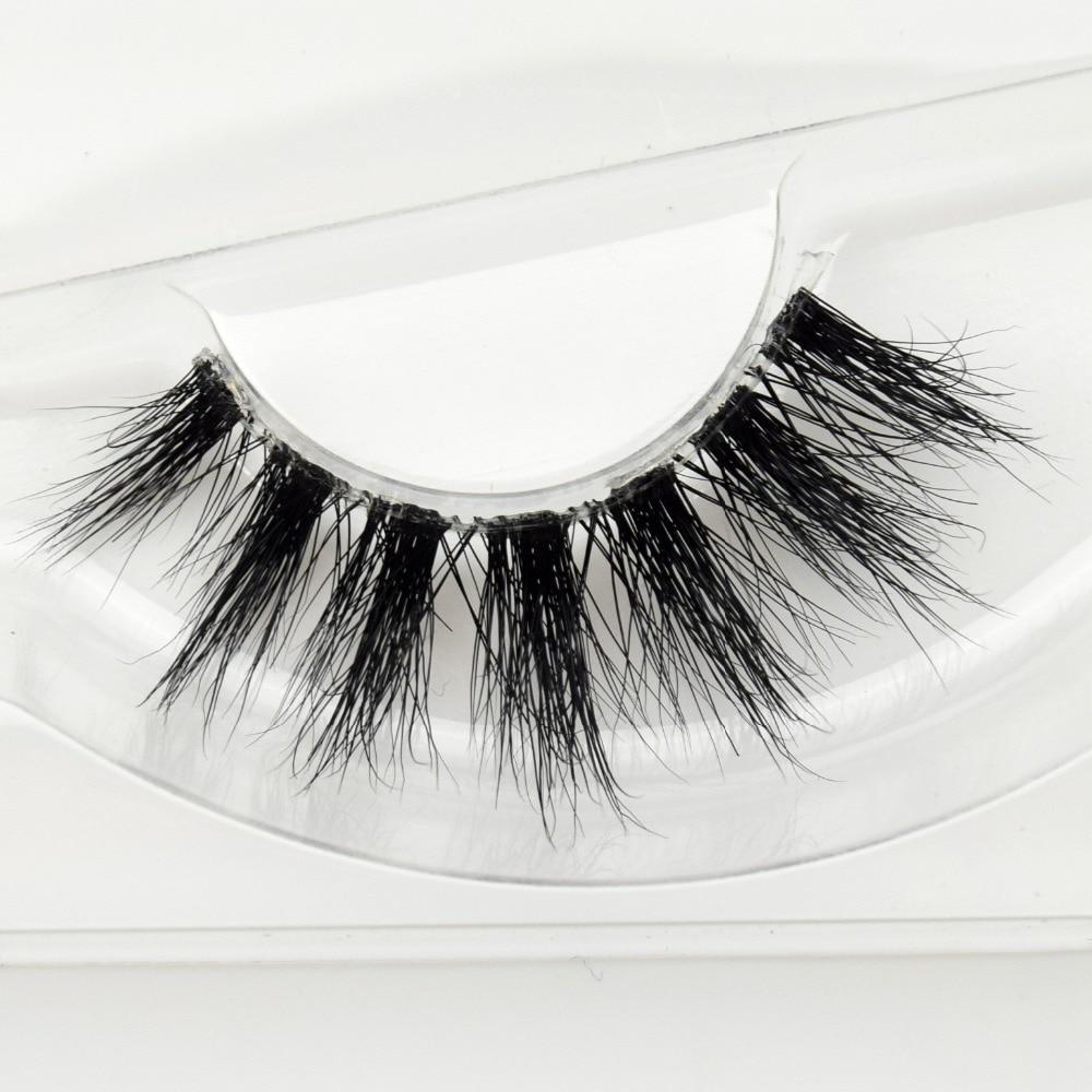 Considerate Visofree Mink Lashes 3d Mink Eyelashes Invisible Band Natural Black Mink False Eyelash Full Strip Cilios Posticos Reusable F41 False Eyelashes