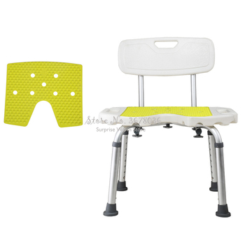 High Quality Metal Toilet Chair  Toilet Step Stool Bathroom Chair Shower Seat Toilet Stool Step Non-slip Seat Adjustable height