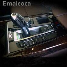 Emaicoca автомобиль-Стайлинг Шестерни Цельнокройное Панель декоративная крышка отделка специально 3D наклейки аксессуары чехол для BMW X5 X6 F15 f16 2014-2016