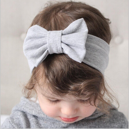 Baby Girl's Hairband With Bowknot