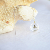 Sailing 925 Sterling Silver Long Drop Earrings For Women Fashion Fine Summer Style Jewelry Bohemian Love