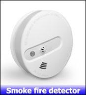 3- smoke fire detector