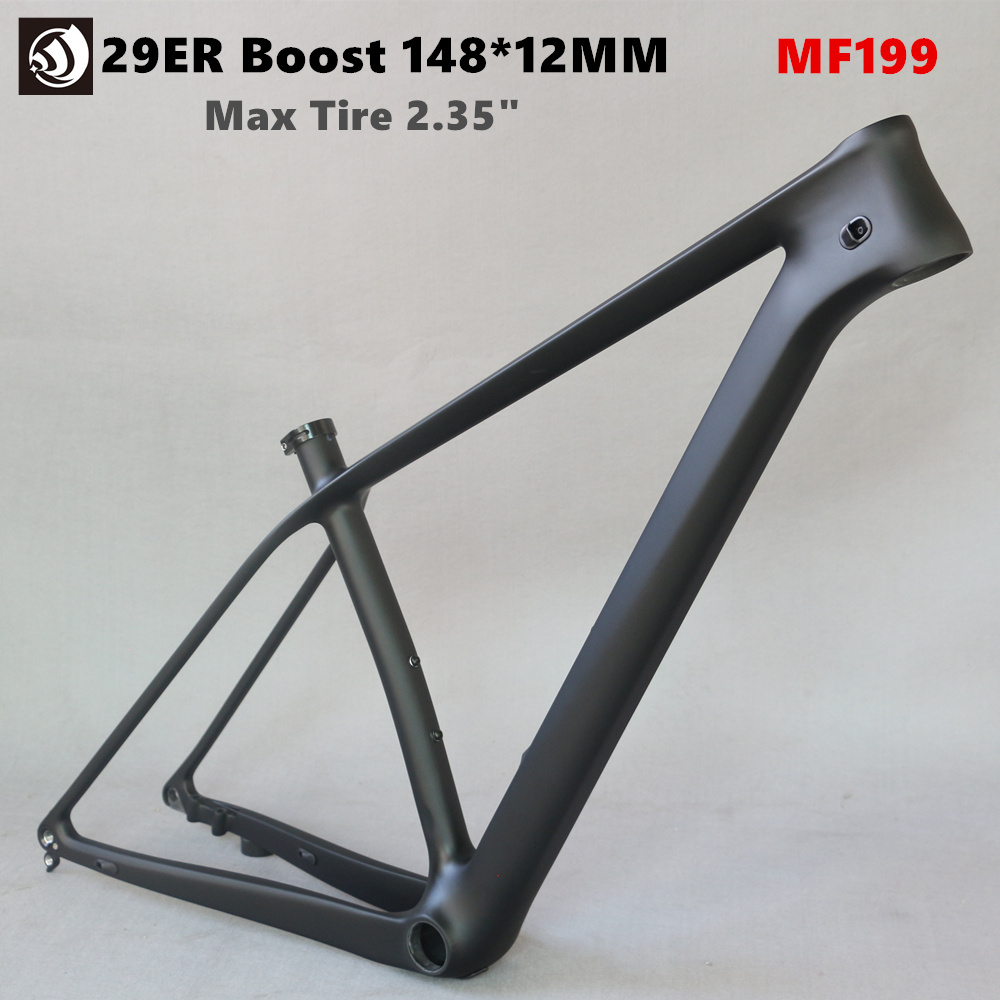 WINOWSPORTS 2019 Full Carbon T800 Super Light 29ER Boost MTB Frame 960g BB92 Max Tire 2.35 UD Matte mtb boost plus frame 29WINOWSPORTS 2019 Full Carbon T800 Super Light 29ER Boost MTB Frame 960g BB92 Max Tire 2.35 UD Matte mtb boost plus frame 29