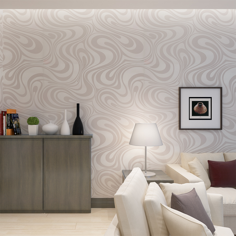 Buy hanmero europe embossed non woven for Grey silver wallpaper living room