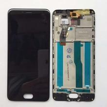 """Оригинальный Новый ЖК-дисплей экран + сенсорный планшета с рамкой для 5.2 """"Meizu m5s meilan 5S m612h m612m белый /черный Бесплатная доставка(China)"""