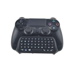 Для Sony Playstation 4 Mutilfunction 2 в 1 Bluetooth мини беспроводная клавиатура для сообщений чата игровые консоли для PS4 контроллера