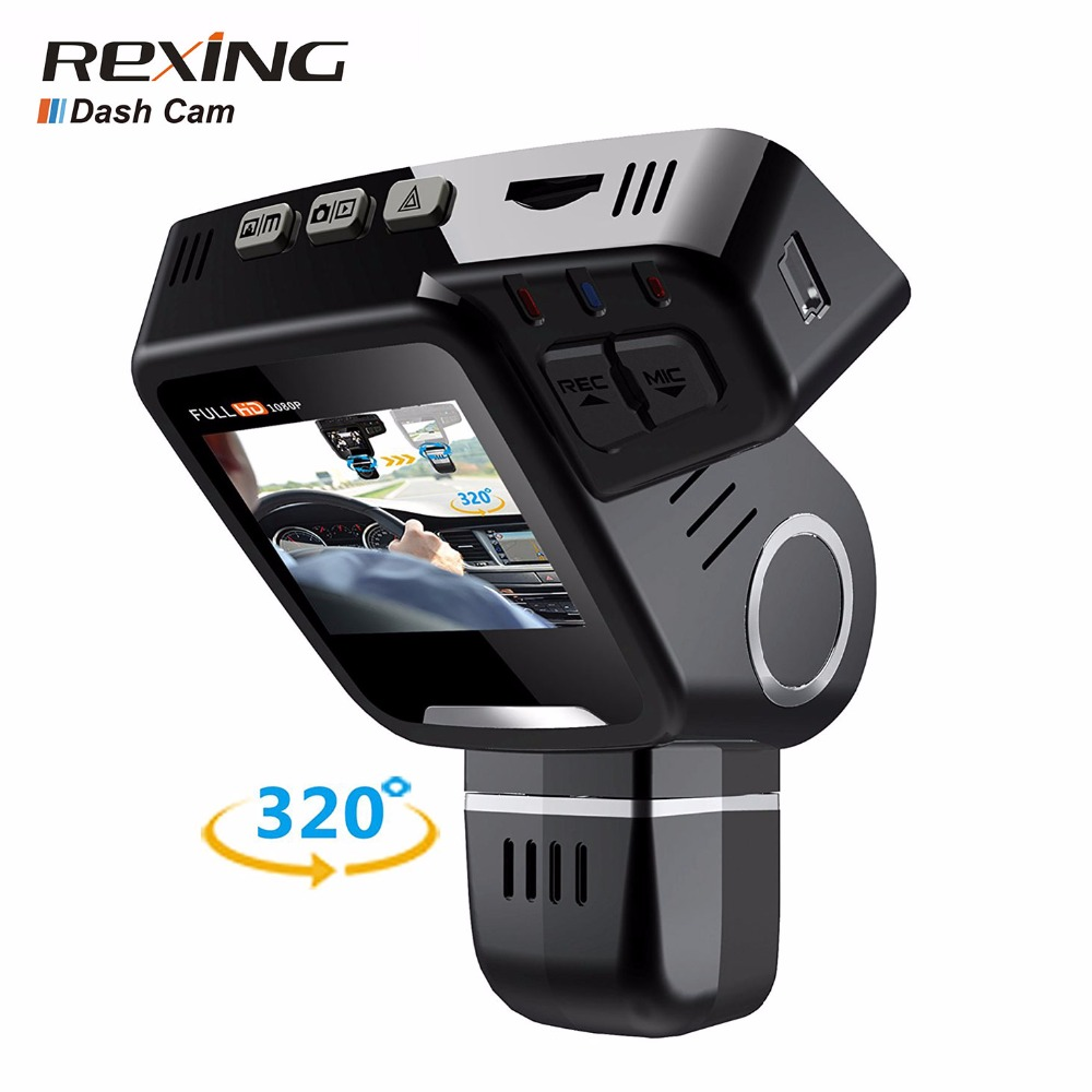 Rexing H1-Plus Car Dvr Camera,Dash Cam,2.0 LCD,FHD 1080P,170 Degree Wide Angle,Night Vision,Recorder for Cars Driving for peugeot 307 car driving video recorder wifi dvr mini camera black box novatek 96658 fhd 1080p dash cam night vision