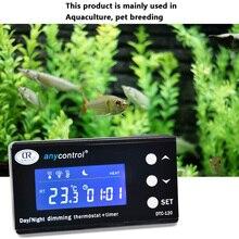 Thermostat d'aquarium, Digital PID, contrôleur de température, sortie étanche, capteur, refroidisseur