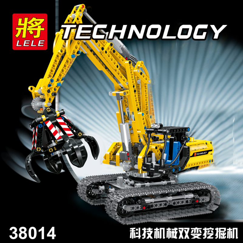 Legoed technic LepinS ville Construction pelle jouet saisir modèle kit speelgoed bloc de Construction brique Legoing jouets cadeau de noël - 3