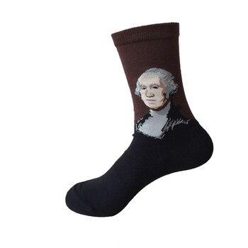 2018 Новый 3 пар/лот Для мужчин Носки для девочек красочные Носки для девочек Повседневное хлопок Для мужчин S носок