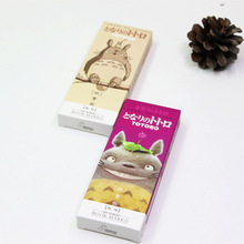 32 pcs Cartoon Totoro book marks My neighbor paper bookmarks Stationery items office School supplies marcador de livro FC392 1 pcs boxed cute feather glass ball pendant bookmarks colorful books school stationery items office supplies