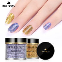 Colorful 10g Dipping Nail Glitter Powder Gradient for UV Gel Polish Sugar Manicure Art FA48-1-12