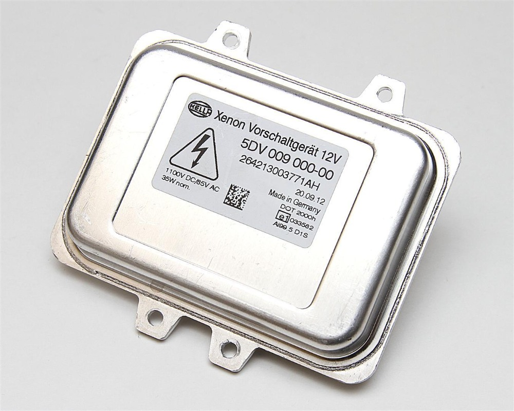 OEM NEW ! Hella D1S 5DV 009 000-00 Ballast Xenon HID Headlight Unit 5DV009 00000