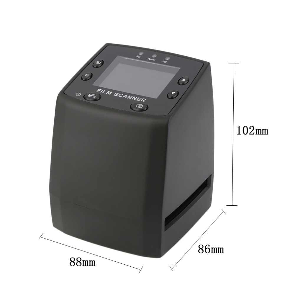 2017 5MP 35 мм сканер высокого разрешения сканер/цифровой преобразует негативы слайды фото пленка для сканирования Горячая