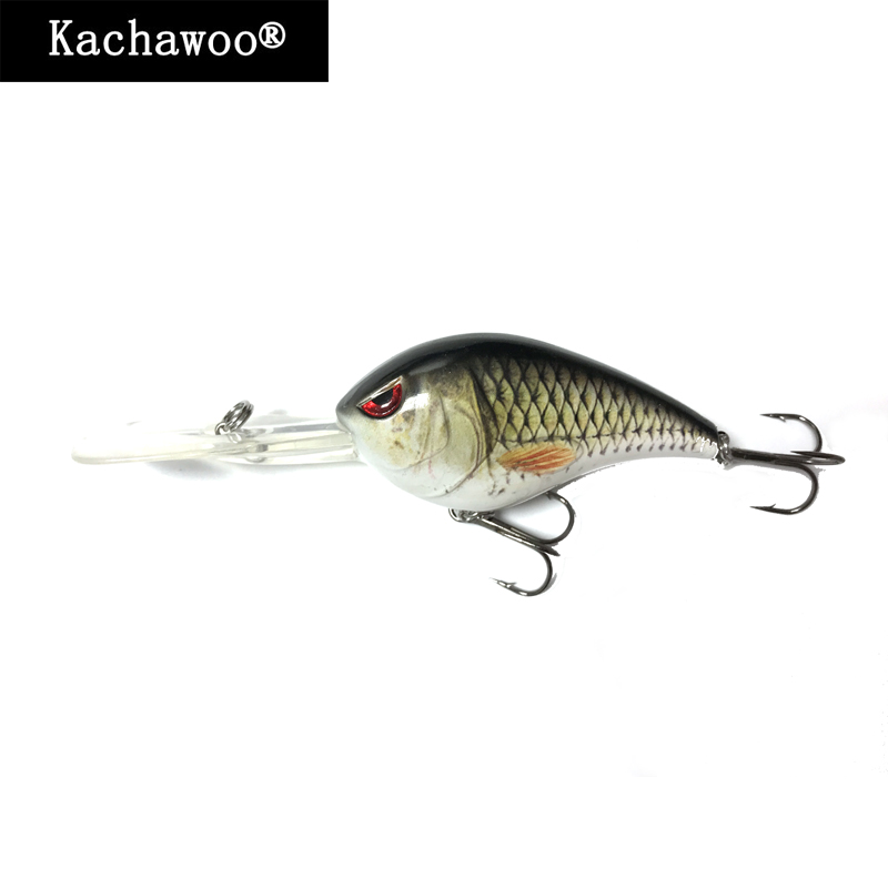 Topwater Crankbaits 3 Inch 28g Minnow Fishing Wobblers Red 3D Eyes Bait Treble Hooks Artificial Bait Lures Cranking Trout Bass