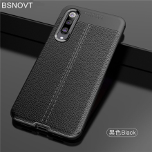 For Cover Xiaomi Mi 9 SE Case Soft Silicone PU Leather Shockproof Bumper BSNOVT
