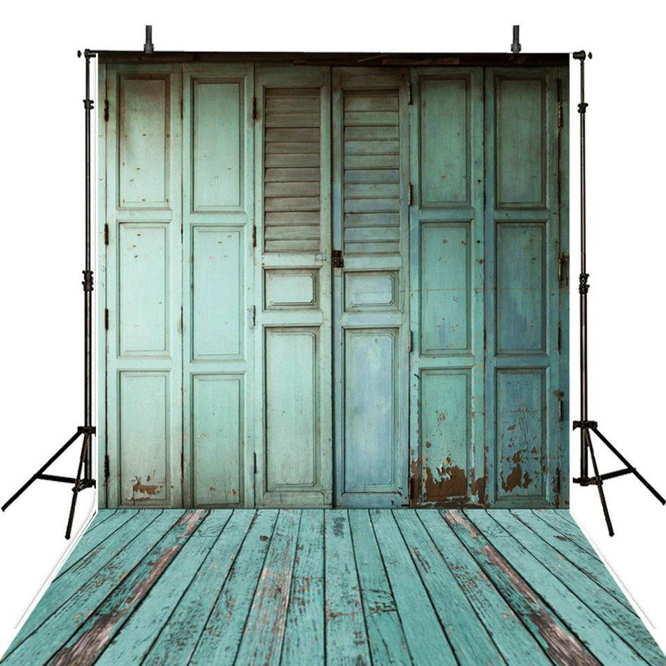 old blue vintage rustic barn wood door  backdrop Vinyl cloth High quality Computer print wall Photography Backgrounds white rustic old wood plank texture backdrop vinyl cloth computer printed party photography studio background