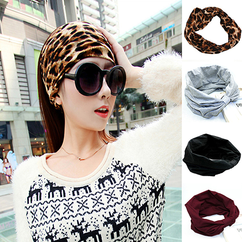 Women s Elastic Wide Sports Headbands Hair Accessories Turban Headband Headwear