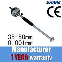digital micron bore gauge digital indicator 0.001 mm bore gauge indicator bore measurement 35-50 mm