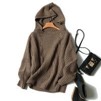Kashana Hoodies Frauen 100% Echte Ziege Kaschmir Hoodies Mode 2017 Frauen Winter Sweatshirts High-end Langarm-kapuzen