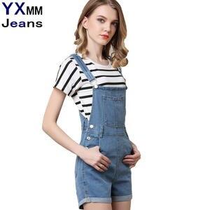 a5d69fe22fc4 DTYNZ Plus Size Blue Pants Denim Women Summer Jeans Shorts