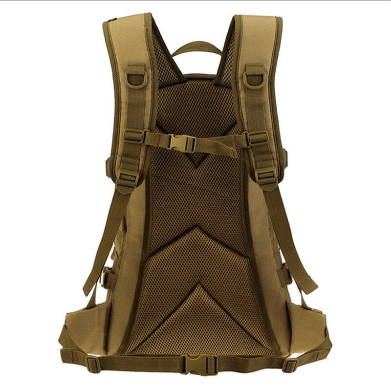 Nouveau sac homme loisirs militaires nylon étanche sac à dos de 25 litres double sac à bandoulière câble de données sac à dos rechargeable. - 6