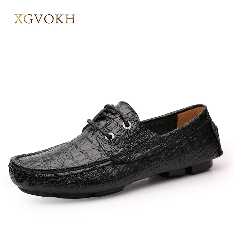 Men Shoes Genuine Leather size 37-47 Spring Summer Loafers, Fashion High Quality Men Lace Up Driving Shoe Men casual Boat shoes new authentic quality fashion casual men s shoes handmade genuine leather oxfords shoes for spring summer plus size 38 47