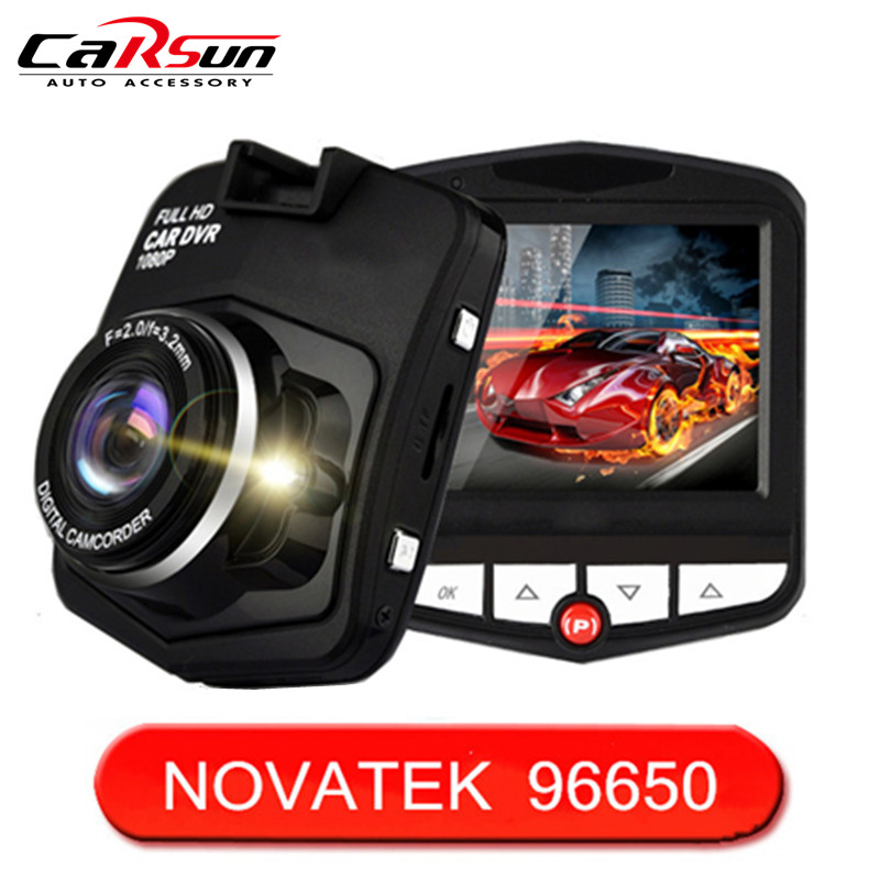 2016 New Dash Cam Full HD 1080P 2 4 Car Dvrs GT300 Novatek NT96650 Car Camera