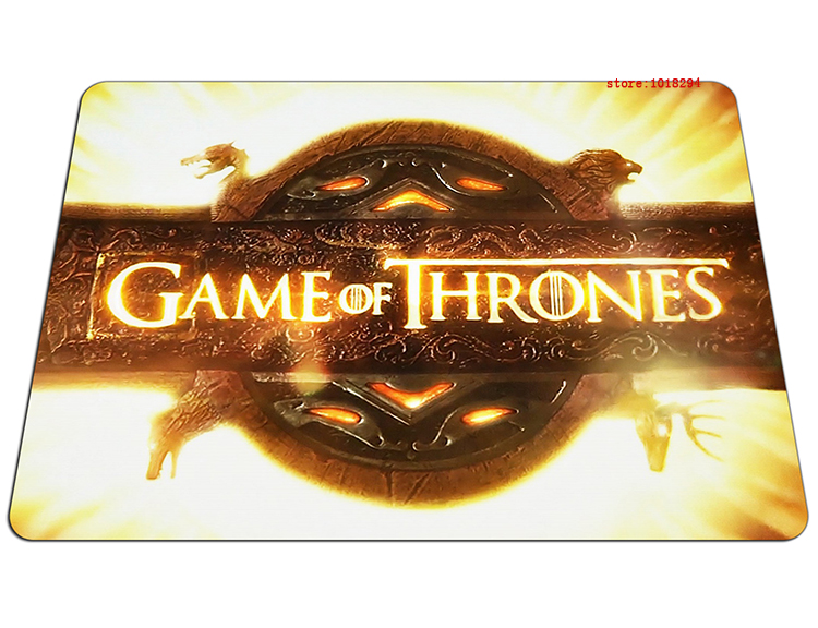 Game of Thrones mouse pad gear mousepads High-quality best gaming mouse pad gamer large personalized pad mouse keyboard pad