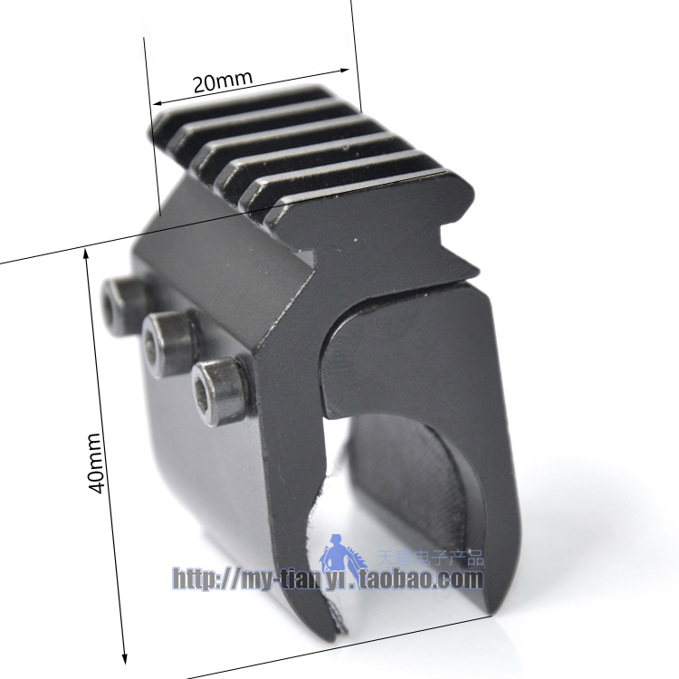 20mm Laser Sight Base Flashlight Mount Picatinny Weaver Rail Mount Base Adapter Tactical Hunting Rifle Gun