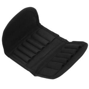 Тактическая 12 круглая Складная патронная сумка для боеприпасов сумка для переноски Молле Пуля для дробовика держатель патрона для винтовки аксессуары для охоты