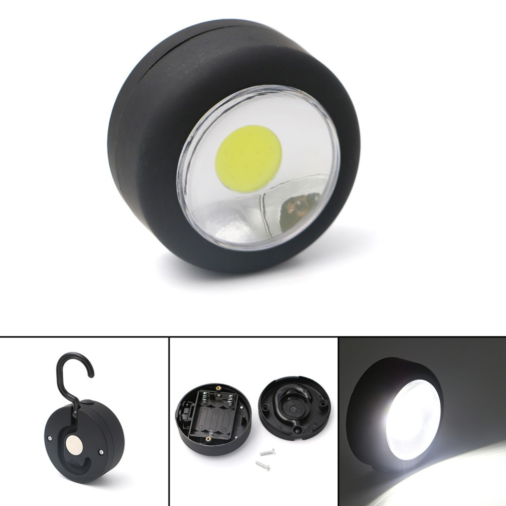 Magnet Hanging Lamp Mini Pocket Portable Bright LED Lightweight Lanterns Light For Hiking Camping Fishing Emergencies