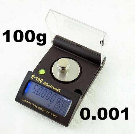 ФОТО High Precision100g 0.001g Electronic digital Balance Touch Screen Jewelry Diamond Gem Carat Scale