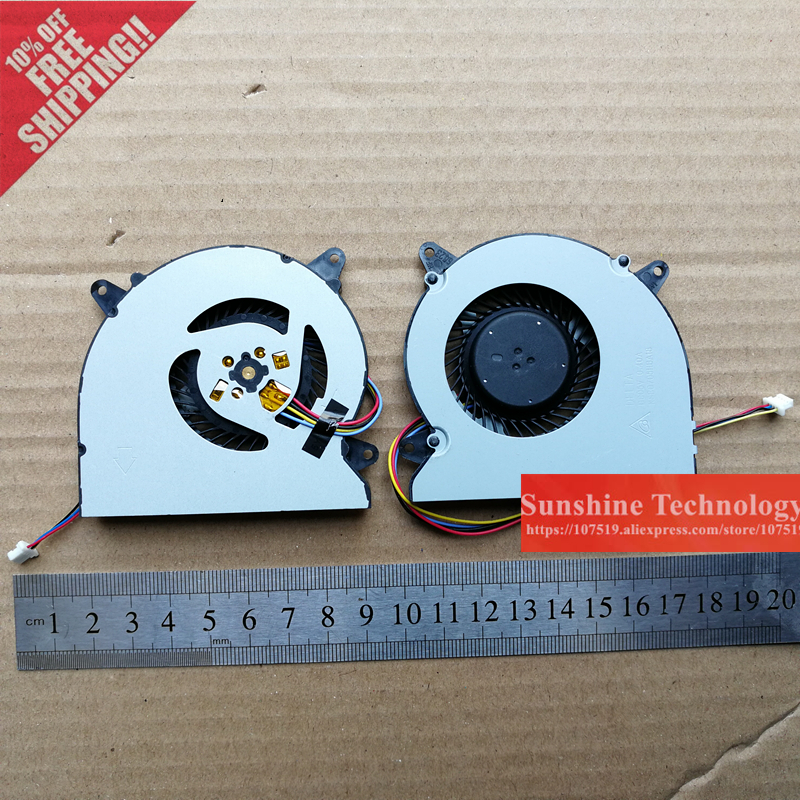 New laptop cpu cooling fan for ASUS N550 N550JV N550JA N550LF G550JK G550J N750 N750JV N750J