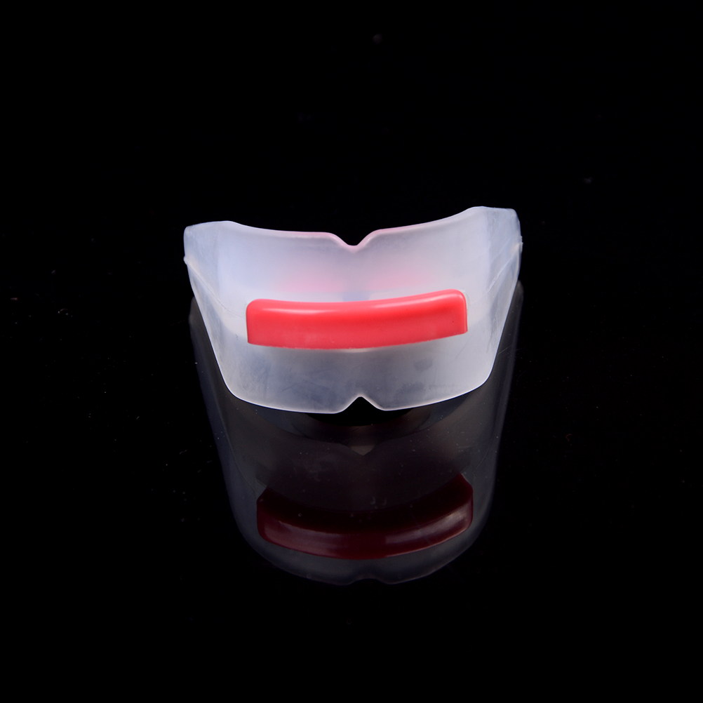 Professional Sports Mouth Guard Gum Shield Grinding Teeth Protect For Boxing Utility Tooth Orthodontic Appliance New