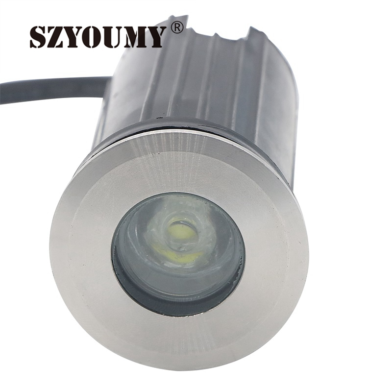 Imported From Abroad Szyoumy 1w 3w Ip67 Ac85-260v Recessed Lighting Outdoor Lamp Led Spot Floor Garden Yard Led Underground Light 15pcs/lot Led Lamps Lights & Lighting