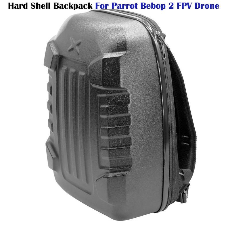 TOMLOV Hard Shell Backpack Storage Case Plastic Nylon For Parrot Bebop 2 FPV Quadcopter