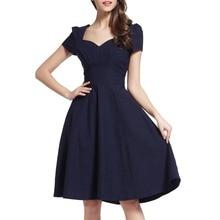 Echoine Blue Ruffle Sleeve Business Dress Women Elegant Short A Line V Neck Ruched Office Pencil Dresses