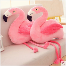 Ins sensation cushion Flamingo doll Pillow Cute pink plush toy Ragdoll gift cushion sofa decoration ragdoll