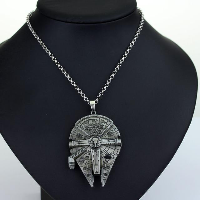 Star Wars Necklace Millennium Falcon