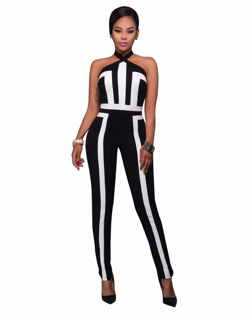 8800abeb950d Summer Rompers Womens Jumpsuit Sexy Off Shoulder Bodysuit Backless Jumpsuit  Overalls