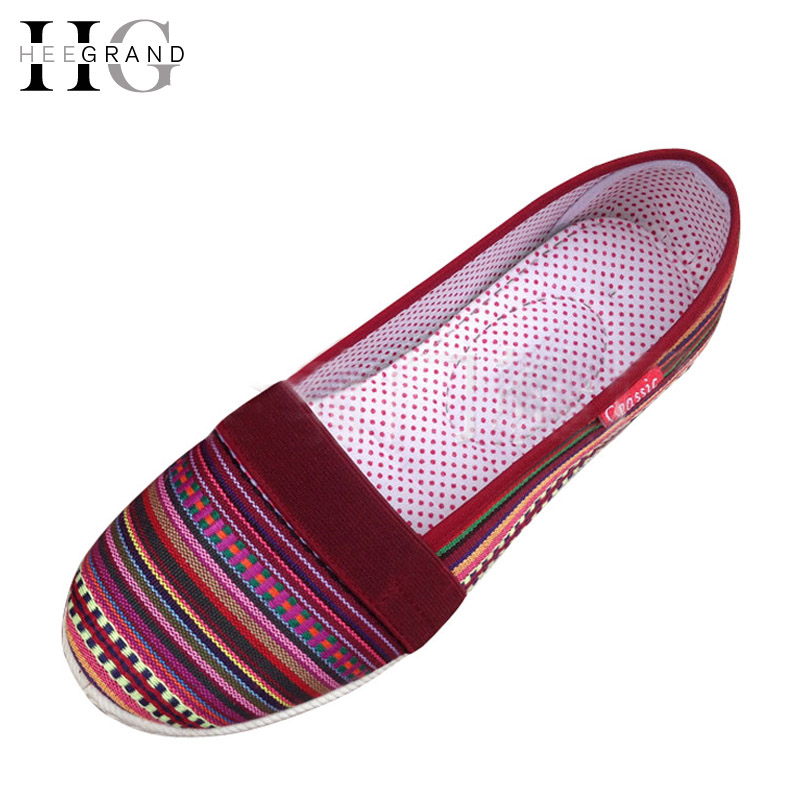 Stripe Loafers Casual Women Canvas Shoes Platform Mother Flat Shoes Woman Comfortable Slip On Flats Size 35-40 XWD4442 7ipupas hot selling fashion women shoes women casual shoes comfortable damping eva soles flat platform shoe for all season flats